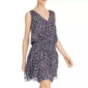 Ramy Brook Sleeveless Printed Silk Dress